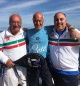Roberto Sacggiante con la delegazione campana dell'agit (Pasquale Esposito e Roberto Conte) (1)