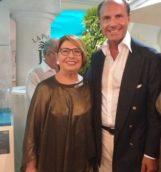 console famiglietti con moglie rosy presidente biancamaria farina