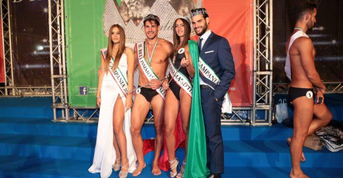 I Vincitori La Bellissima e Il Bellissimo D'Italia (Miss e Mister Campania 2019)