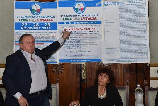 il presidente Luigi Pergamo