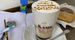 foto buona cappuccino caffe kamo