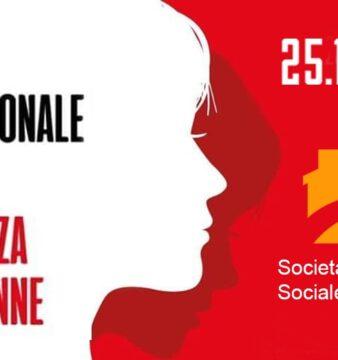 Logo Giornata contro la violenza sulle donne