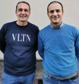 A sx l'Assessore alle Politiche Sanitarie Giuseppe Caputo e a dx il Consigliere Comunale Serafino Ambrosio